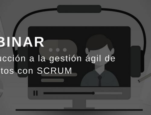 Webinar: Introducción a la gestión ágil de proyectos con scrum