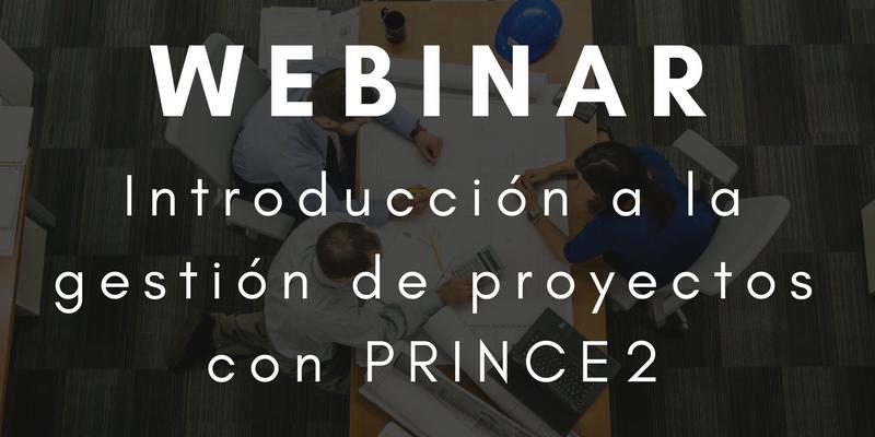 webinar prince2