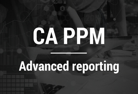 CA PPM-Advanced reporting