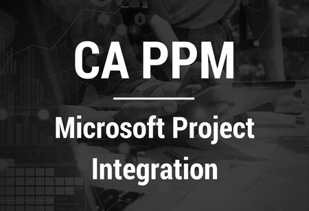 CA PPM-Microsoft Project Integration