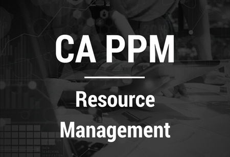 CA PPM-Resource Management