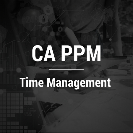 CA PPM-Time Management