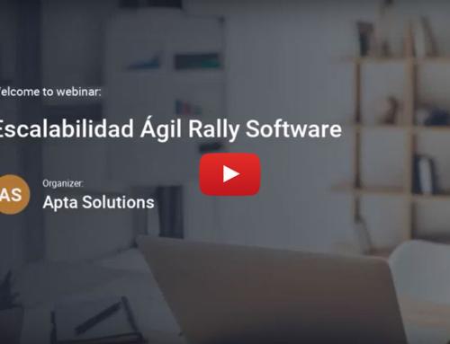 Webinar: Escalabilidad Ágil con  Rally Software (CA Agile Central)